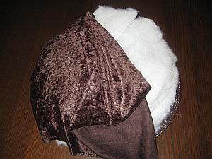 Шляпа в виде гриба своими руками