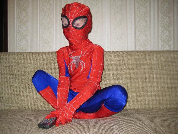 Как сделать костюм человека паука новый