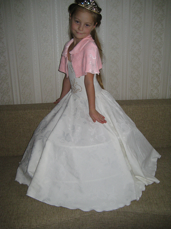 Бальное платье для танцев своими руками