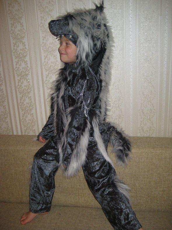 Новогодний костюм лиса своими руками