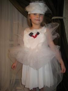 Платье на новогодний утренник своими руками