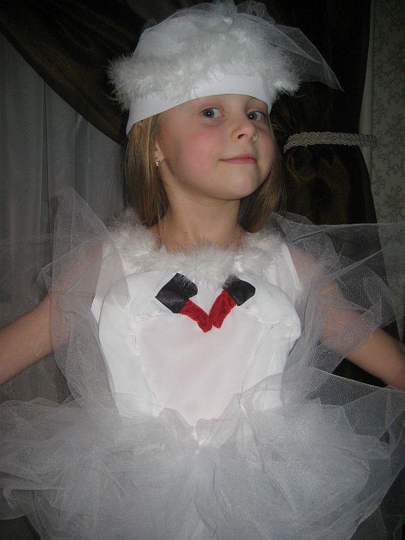 Карнавальный костюм Лебедь своими руками - photo#40