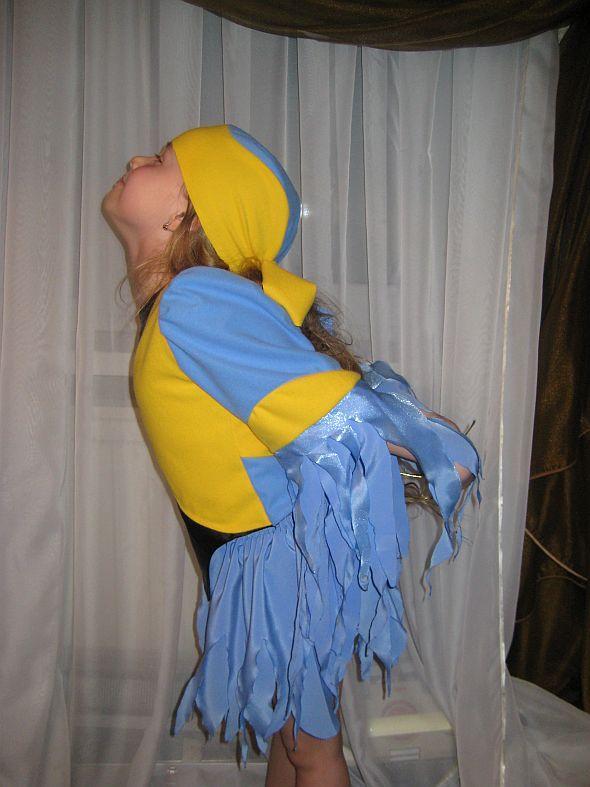 костюм птицы своими руками