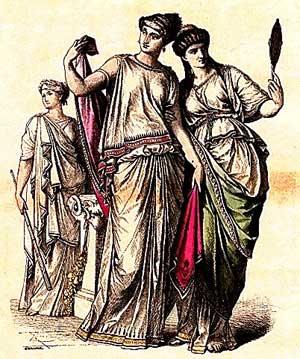 Древняя греция искусство драпировки