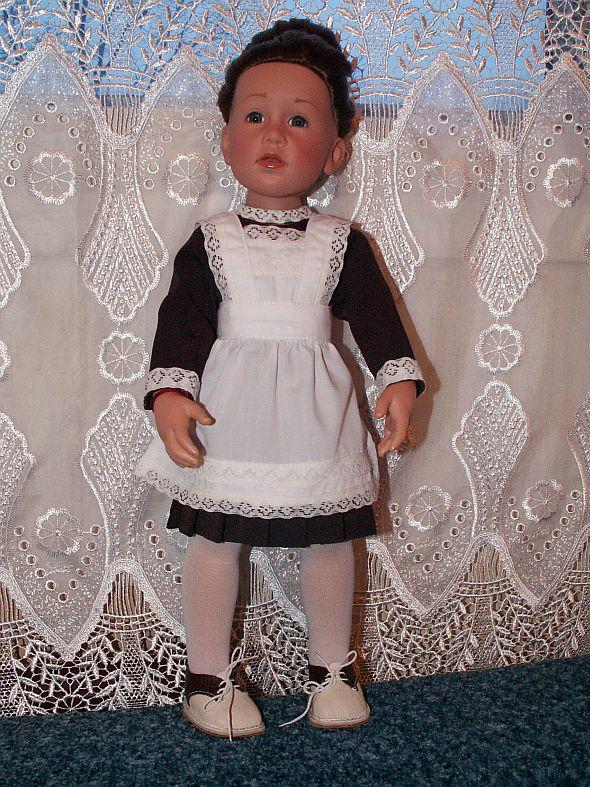 Как сделать для куклы школьную форму 371