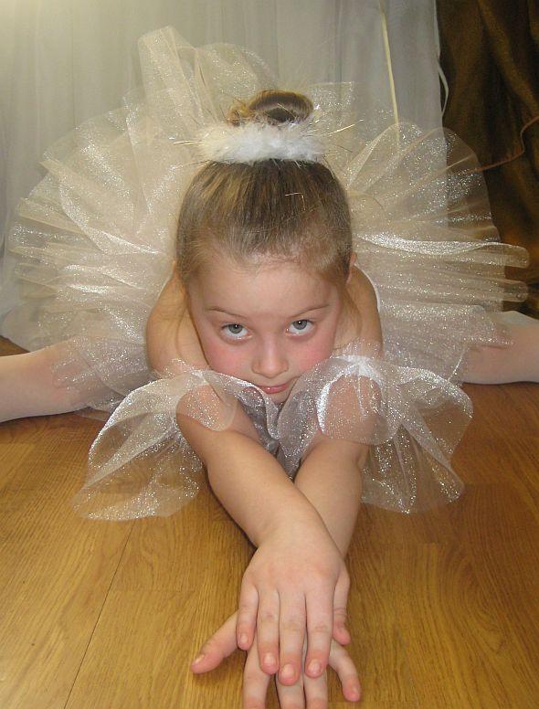 Как сделать костюм балерины 160