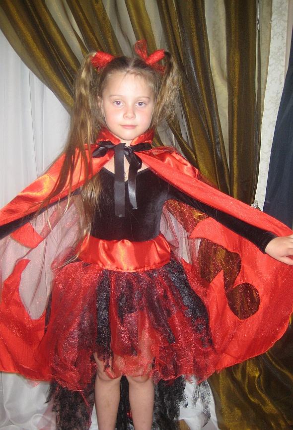Детский карнавальный костюм Чертик девочка 3238  цена