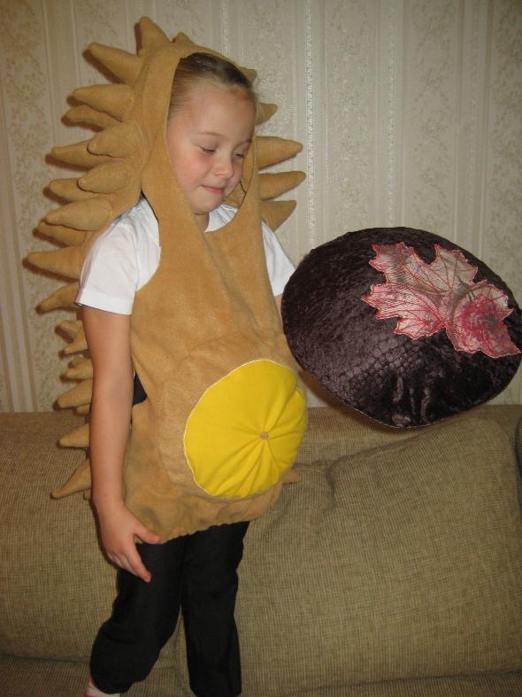 Новогодний костюм гномик для мальчика своими руками