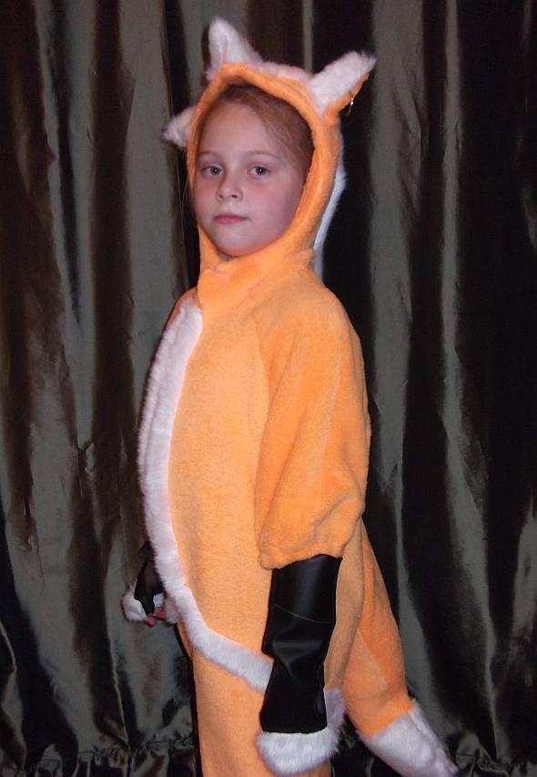 Костюм лисы на новый год своими руками