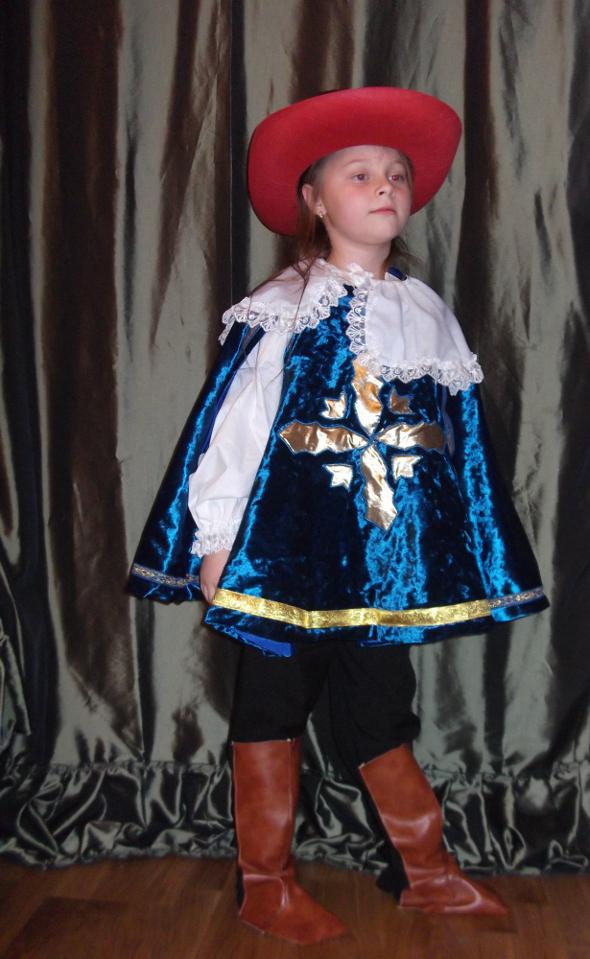 Карнавальный костюм мушкетера своими руками - photo#2