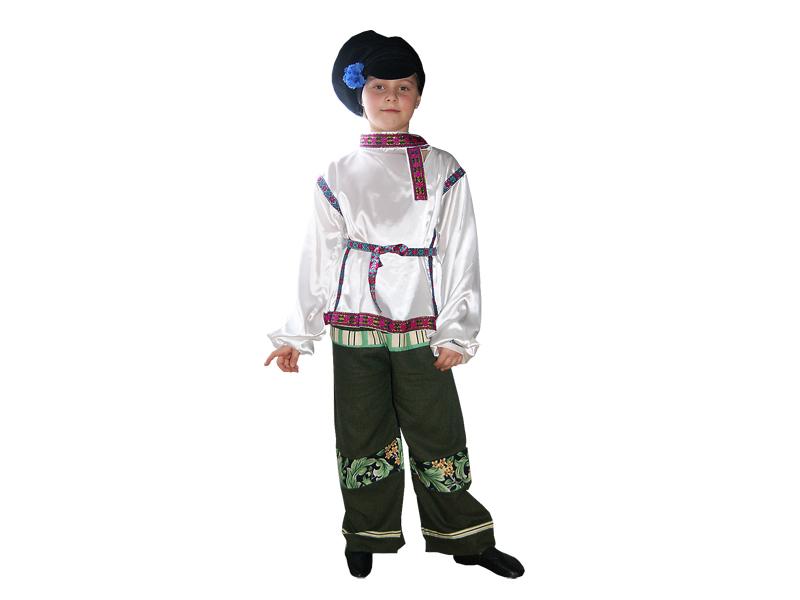 Стилизованный русский костюм для мальчика