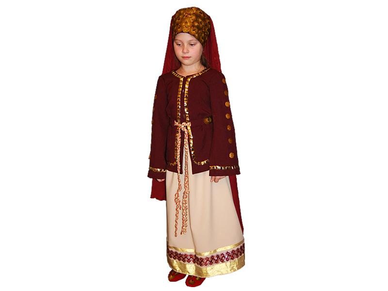 Театральный костюм Скифская девушка