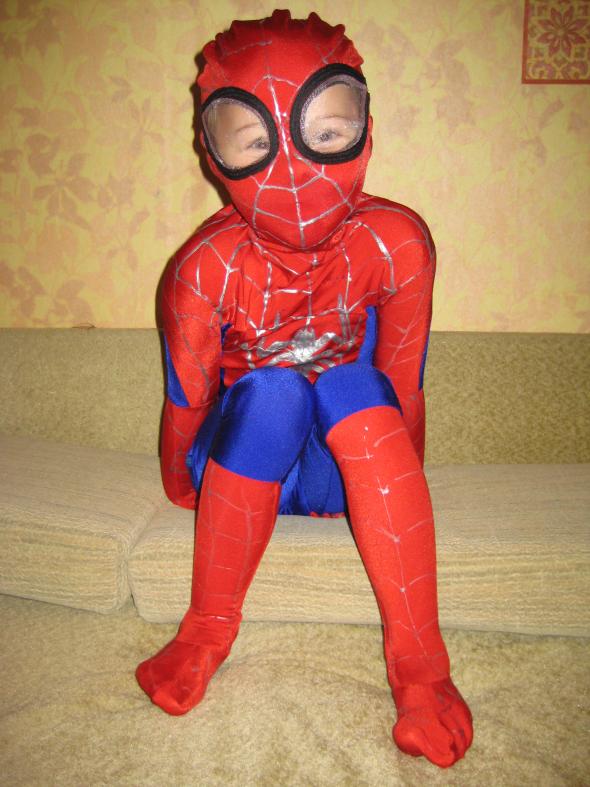 Костюм человека паука мастер класс