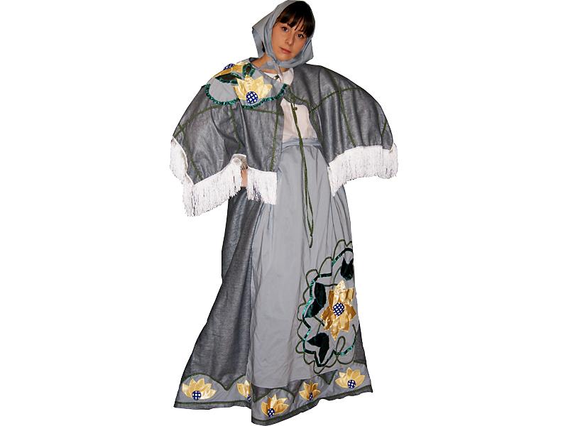 Карнавальный костюм бабки