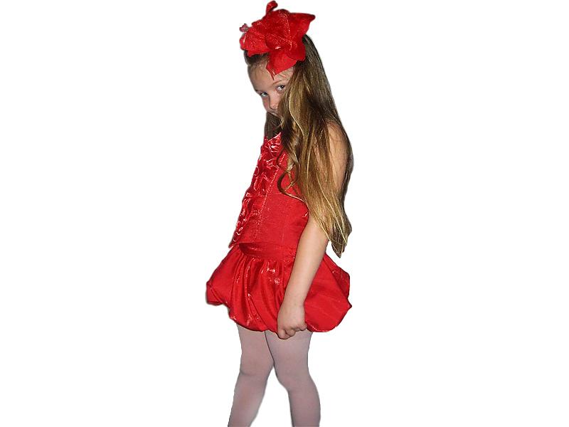 костюм розы своими руками