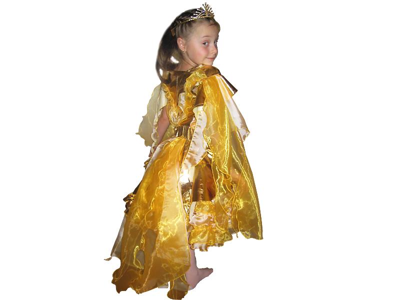 карнавальный костюм золотой рыбки