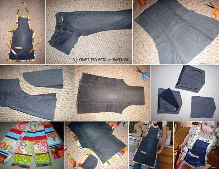 Что можно сделать из старых джинсов своими руками фото