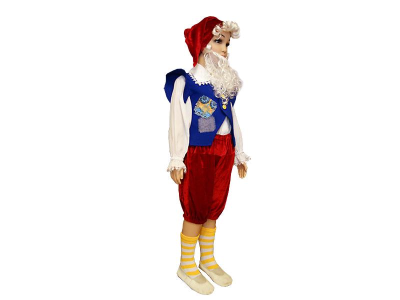 Карнавальный костюм гнома своими руками