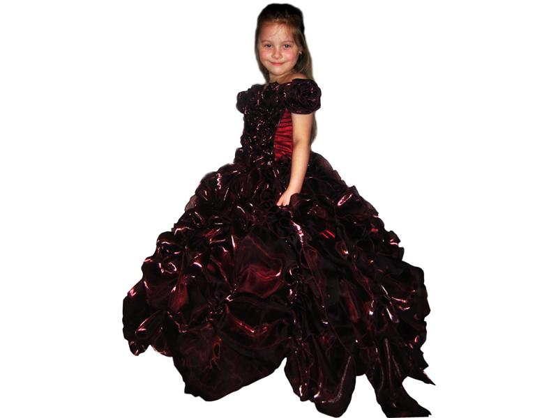 Бальное платье для выпускного «Кармен»