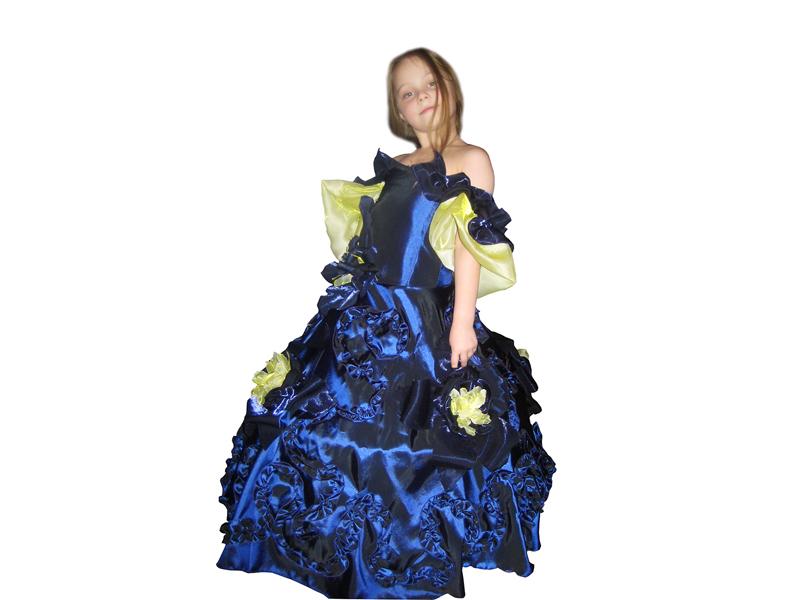 Бальное платье «Темная ночь»
