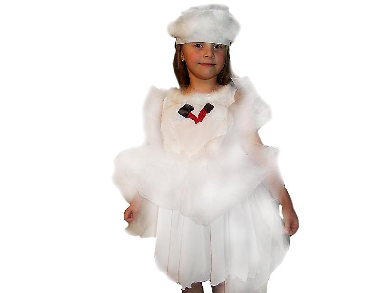 костюм лебедя